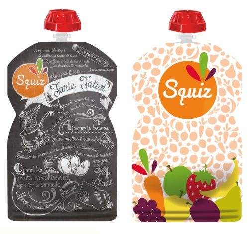 Squiz food pouches
