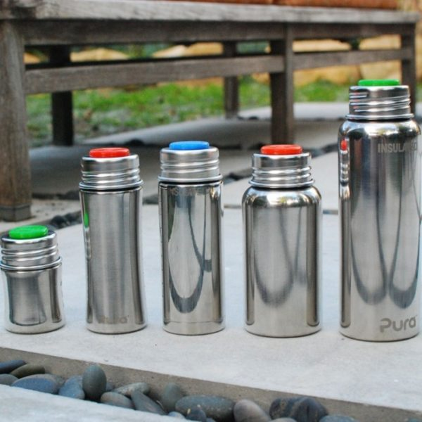 Silicone cap for Pura bottles